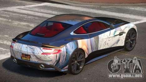 Aston Martin Vanquish LT PJ2 para GTA 4