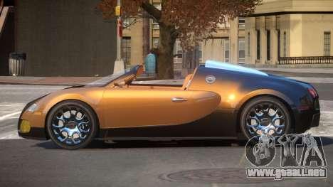 Bugatti Veyron SR para GTA 4