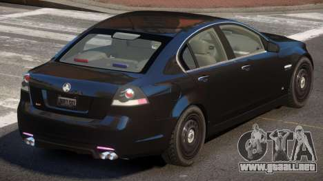 Holden Commodore Spec para GTA 4