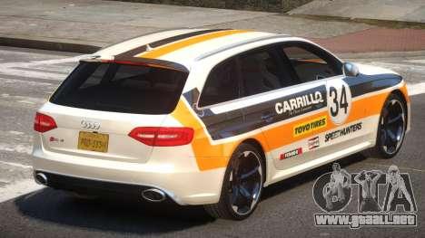 Audi RS4 S-Tuned PJ1 para GTA 4