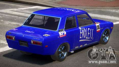 1972 Datsun Bluebird 510 PJ6 para GTA 4