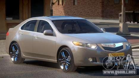 Acura TSX V1.1 para GTA 4