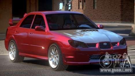 Subaru Impreza WRX S-Tuned para GTA 4
