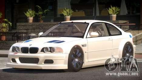 BMW M3 E46 D-Style para GTA 4