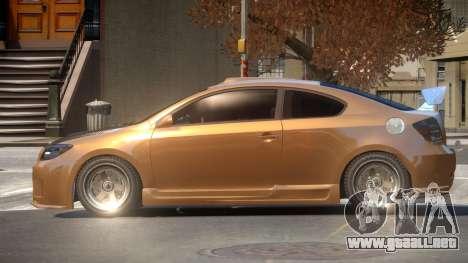 Scion tC R-Tuning para GTA 4