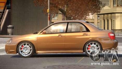 1998 Subaru Impreza para GTA 4