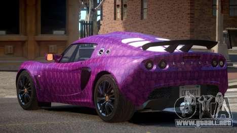 Lotus Exige M-Sport PJ2 para GTA 4