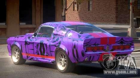 Shelby GT500 R-Tuning PJ5 para GTA 4