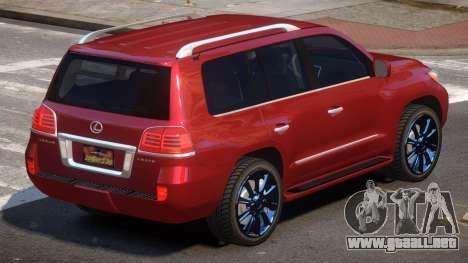 Lexus LX570 E-Style para GTA 4