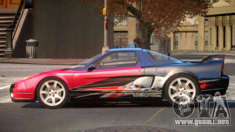 Honda NSX Racing Edition PJ4 para GTA 4