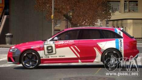 Audi RS4 S-Tuned PJ6 para GTA 4