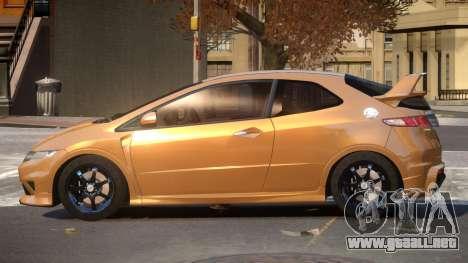 Honda Civic TR G-Tuned para GTA 4