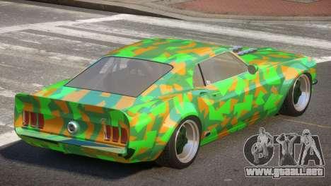 Ford Mustang TR Custom PJ4 para GTA 4