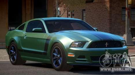 Ford Mustang 302 MS para GTA 4