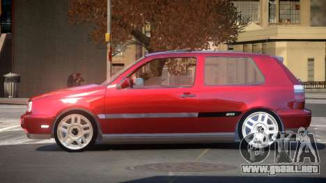Volkswagen Golf G-Tuned para GTA 4