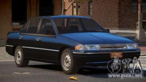 Mercury Tracer ST para GTA 4