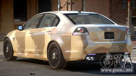 Holden Commodore TR PJ2 para GTA 4