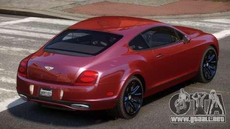 Bentley Continental TR para GTA 4