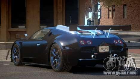 Bugatti Veyron 16.4 R-Tuning para GTA 4