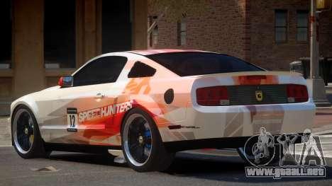 Ford Mustang G-Tuned PJ5 para GTA 4