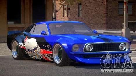 Ford Mustang TR Custom PJ2 para GTA 4