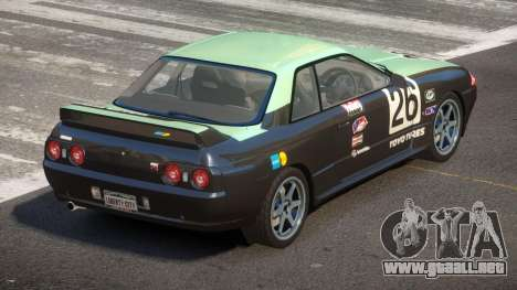 Nissan Skyline R32 V-Style PJ5 para GTA 4