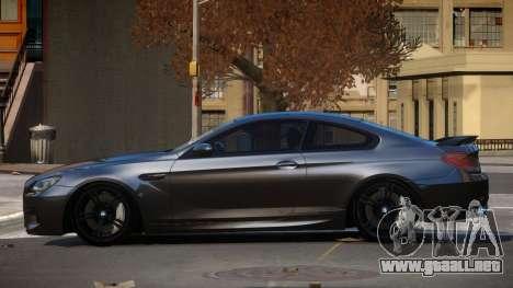 BMW M6 F12 TR para GTA 4