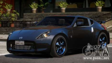 Nissan 370Z Qn para GTA 4