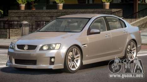 Holden Commodore CL para GTA 4