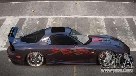 Mazda RX7 PSR PJ5 para GTA 4