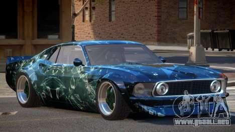 Ford Mustang TR Custom PJ3 para GTA 4
