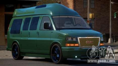 GMC Savana Travels para GTA 4