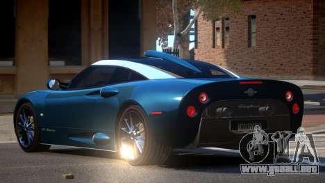Spyker C8 M-Sport para GTA 4