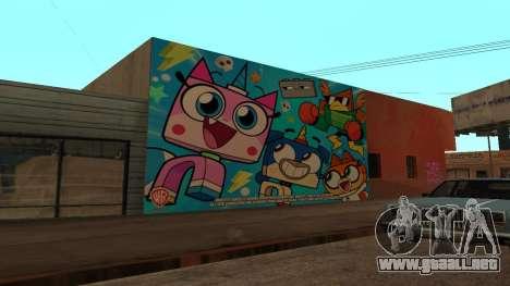 Unikitty Wall para GTA San Andreas