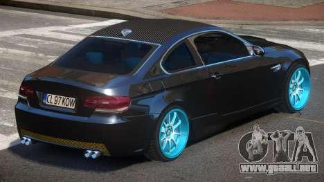 BMW M3 E92 TR para GTA 4