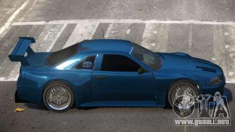Nissan Skyline R34 R-Tuned para GTA 4