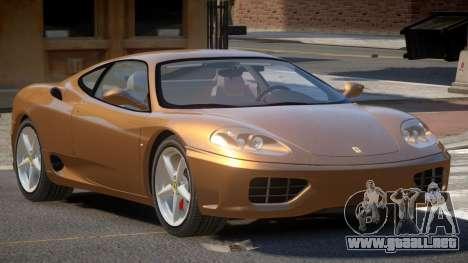 Ferrari 360 MR para GTA 4