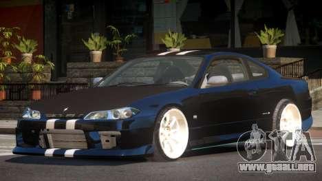Nissan Silvia S15 G-Style para GTA 4