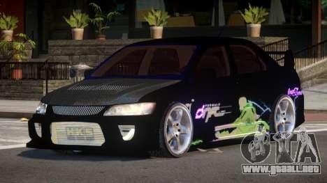 Mitsubishi Lancer G-Style PJ2 para GTA 4