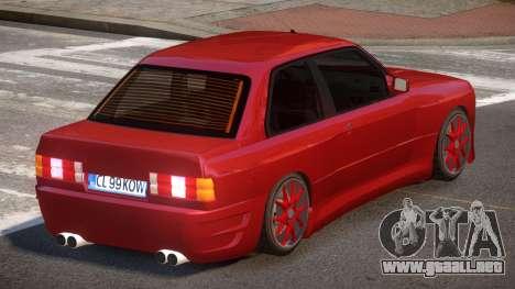 BMW M3 E30 R-Tuned para GTA 4