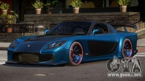 Mazda RX-7 FSI para GTA 4