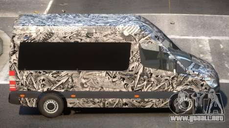 Mercedes Benz Sprinter MR PJ6 para GTA 4