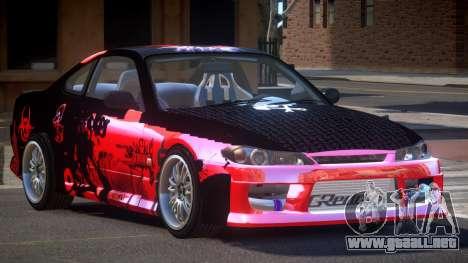 Nissan Silvia S15 M-Sport PJ3 para GTA 4