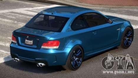 BMW 1M E82 MS para GTA 4
