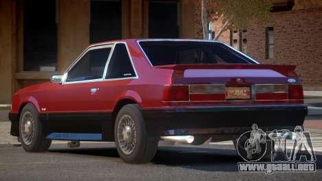 1988 Ford Mustang para GTA 4
