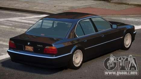 1994 BMW 750i E38 para GTA 4