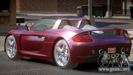 Porsche Carrera GT-SR para GTA 4