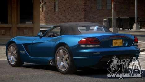 Dodge Viper SR para GTA 4