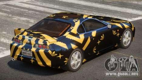 Toyota Supra G-Style PJ3 para GTA 4