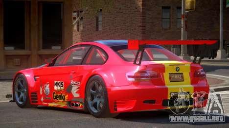 BMW M3 GT2 MS PJ3 para GTA 4